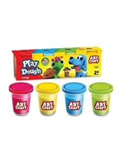 FEN TOYS Fen Toys 03280 Art Craft 4'Lü Renkli Oyun Hamuru 224 Gr